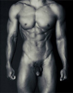 nude male body