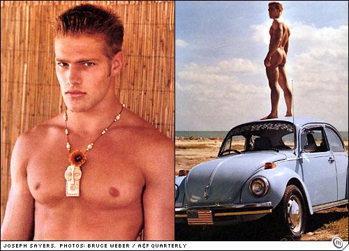 Joseph Sayers nude in Abercrombie Quarterly